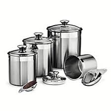 kitchen canisters set of 4 kitchen canisters glass canister sets for coffee bed bath beyond