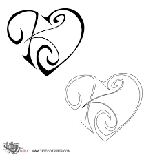 download tribal letter k tattoo designs danielhuscroft com