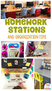 help kids make the most of homework with these stations u0026 tips