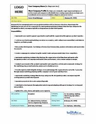 Brand Manager Sample Resume by Sample Job Description Template U2013 Senior Brand Manager Job