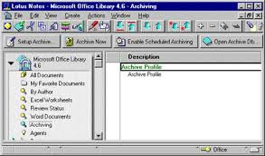 notes 4 6 managing documents with the ms office library template