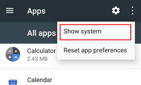 application manager android how to view system apps in application manager on android 6 steps
