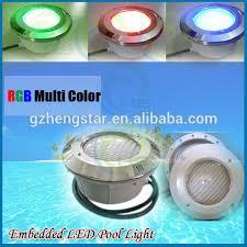 12v Led Pool Light 12v Rgb Waterproof Led Swimming Pool Light Buy 12v Multi Color
