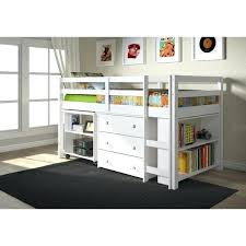 loft desk bed kids low study loft desk twin bed with chest and