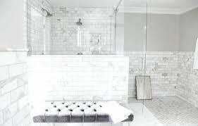 what is subway tile what is subway tile with darker grout white dark colors bathroom
