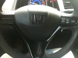 honda logo honda car symbol steering wheel emblem removal 8th generation honda civic forum
