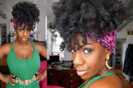 80s hair styles with scarves easy effortless scarf updo for natural hair youtube
