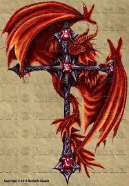 tattoo cross dragon tattoo design dragon cross by thedragonofdoom on deviantart