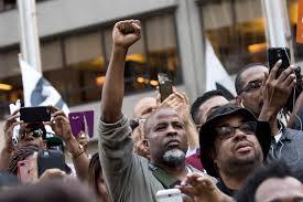 colin kaepernick rally draws huge crowd outside nfl headquarters