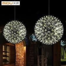 discount sphere lights45cm modern creative stainless steel