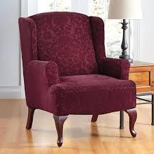 Walmart Slipcovers Wingback Chair Slipcovers Walmart Slipcover Square Cushion 1596