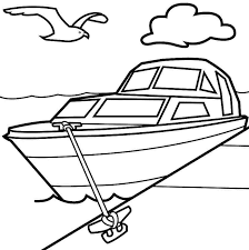 Fishing Boat Coloring Pages Printable Coloringstar