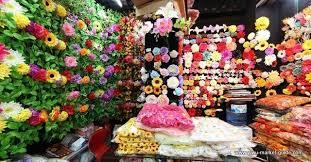 artificial flower showroom yiwu china 1