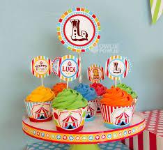 circus cake toppers owlie powlie