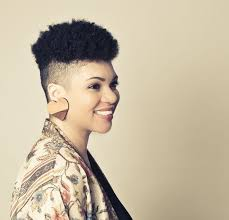 black natural hair with shafed sides 81 best mohawk hairstyles for women images on pinterest natural
