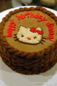 i heart baking hello kitty ice cream cake