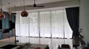 pavis condo designed blackout day u0026 night curtains with timber