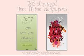cute fall wallpapers friday freebie fall inspired phone wallpapers u2013
