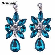 blue drop earrings best blue drop earrings fashion jewelry 2016 new big brand
