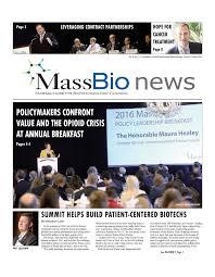 Power Of Attorney Massachusetts by Massbio U0027s Print Newsletter Massachusetts Biotechnology Council