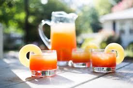 recipe pineapple rum sunset punch kitchn