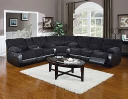 Reclining Sleeper Sofa by Microfiber And Leather Sectional Sleeper Sofa With Chaise And