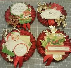 christmas rosettes u2026 pinteres u2026