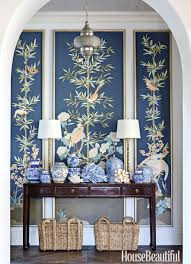Blue Entryway Table by 70 Foyer Decorating Ideas Design Pictures Of Foyers House