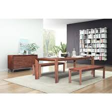 Extendable Dining Room Tables Zuo Perth Chestnut Extendable Dining Table 100588 The Home Depot