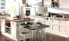 cuisine avec ilot bar ilot cuisine bar fabriquer ilot central cuisine pas cher ilot