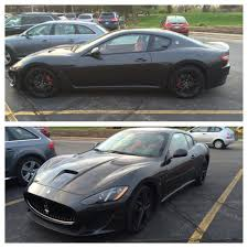 maserati v10 nice blacked out maserati granturismo that showed up at a local