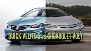 nissan leaf vs chevy volt 2018 buick velite 5 vs chevrolet volt differences in photo