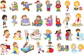 see clipart action word pencil and in color see clipart action word