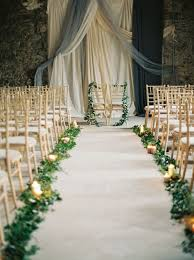 wedding aisle runners 27 gorgeous greenery garland wedding ideas for 2017 wedding