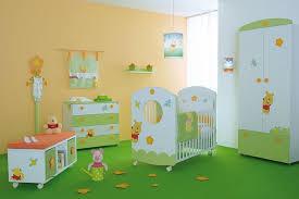 Green Nursery Decor Winnie The Pooh For Baby Nursery Decor With Green Color Schemes