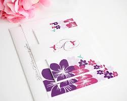 wedding invitations jamaica destination wedding invitations with hummingbirds and flowers