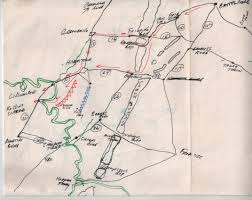 Gettysburg Pennsylvania Map by General Lee Retreat To Falling Waters