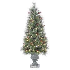 sterling inc frosted alaskan 4 green fir artificial