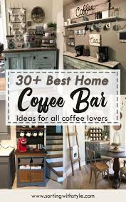 coffee kitchen cabinet ideas 30 best home coffee bar ideas for all coffee