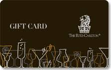 hotel gift card ritz carlton hotel gifts hotel gifts