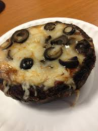 portobello cap pizzas u2013 south beach phase 1 lunch by the cook book