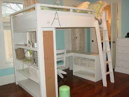 Bunk Beds With Desk Canada White Bunk Beds With Stairs And Desk - White bunk bed with desk