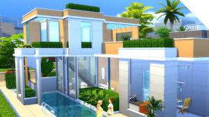 glass roof house the sims 4 build glass roof house youtube
