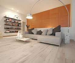 white hardwood flooring