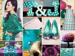 purple and turquoise wedding turquoise and purple wedding
