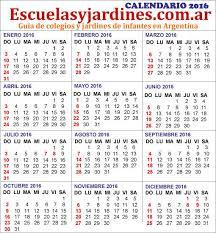 calendario escolar argentina 2017 2018 más de 25 ideas increíbles sobre calendario 2016 argentina en