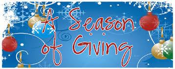 about a season of giving a season of giving