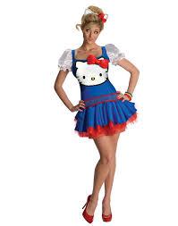 halloween kitty costumes blue red hello kitty cat halloween costume dress