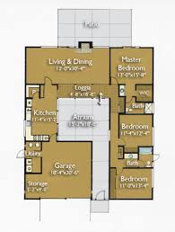 ranch home floor plans 4 bedroom floor plans for ranch homes 130000 ameripanel of 4 bedroom style