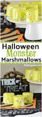 halloween monster marshmallows finding zest